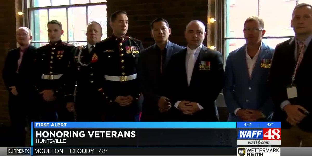 Rain didn't put a damper on efforts to honor TN Valley veterans