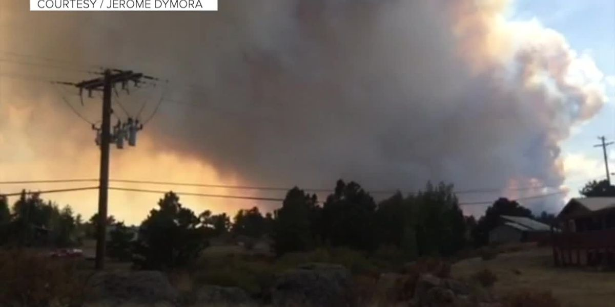 Mandatory evacuations in Colorado as wildfire surges