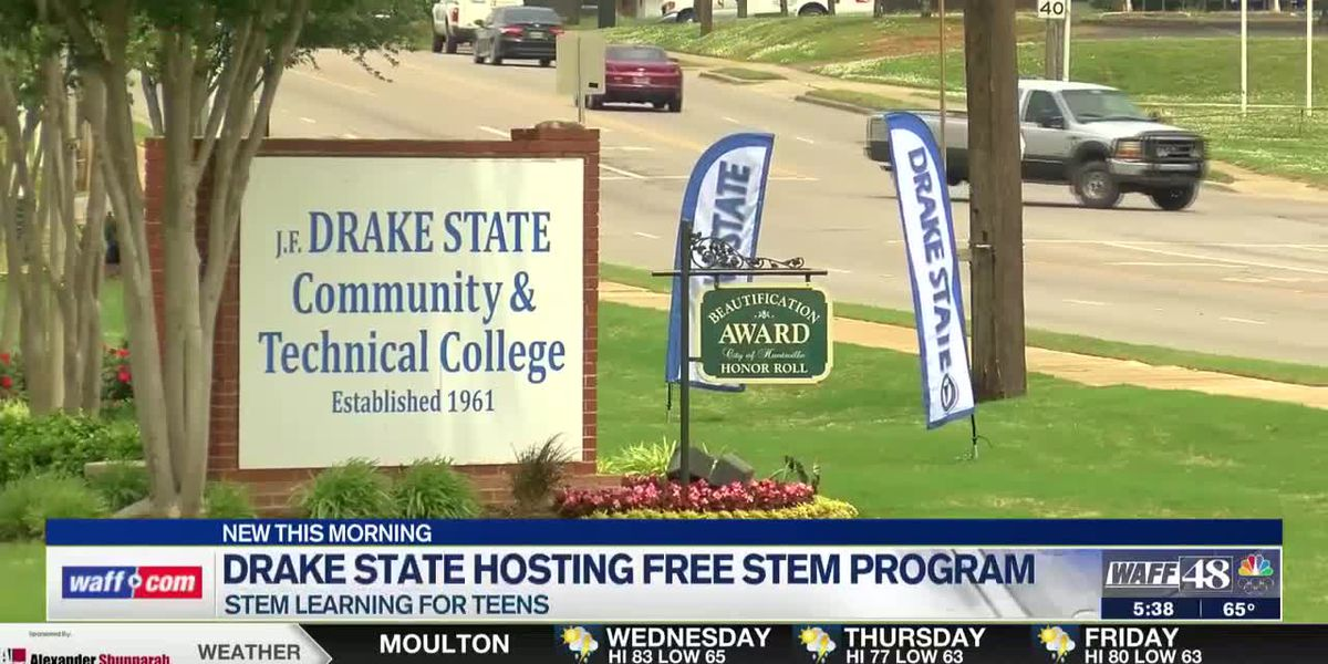 Drake State offering free STEM learning experience to teens