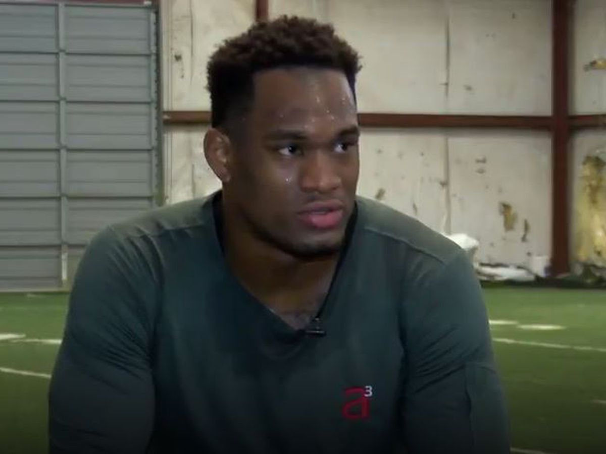Former Alabama linebacker prepares for NFL Combine