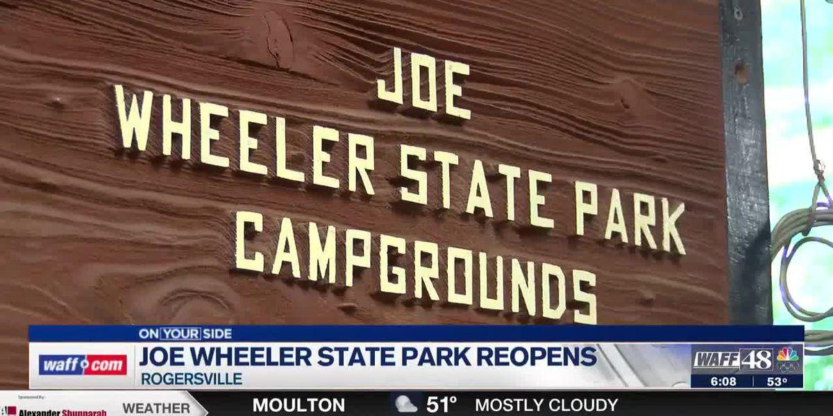 Areas damaged by 2019 tornado in Joe Wheeler State Park reopens in Rogersville