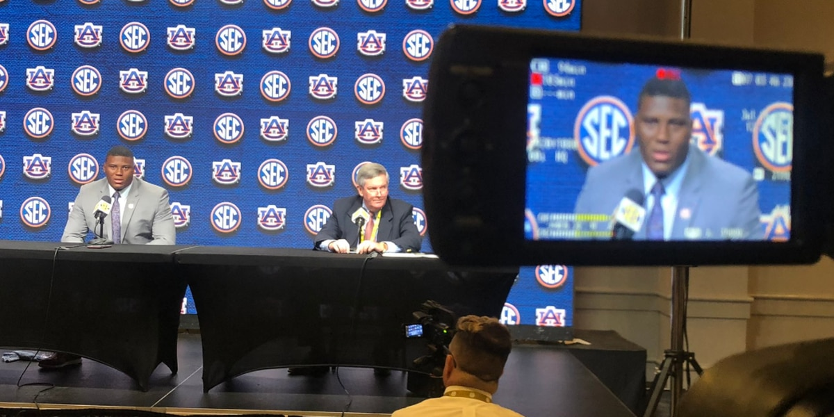 Auburn at SEC Media Days