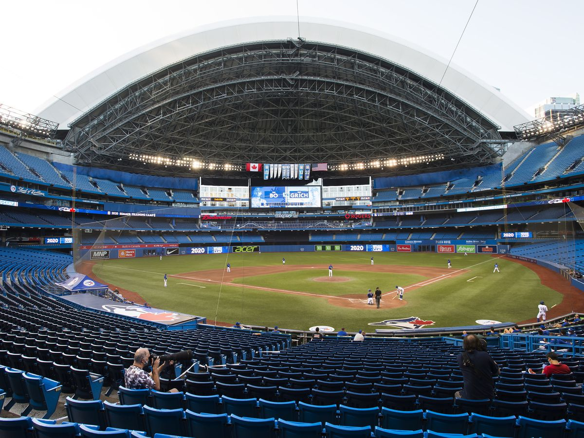 Mlb S Blue Jays Not Allowed To Play Games In Canada