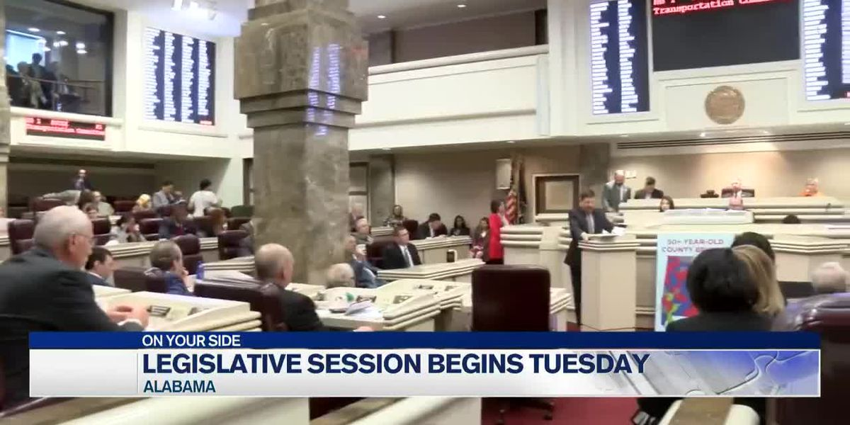 The 2021 Alabama Legislative Session kicks off Tuesday in Montgomery