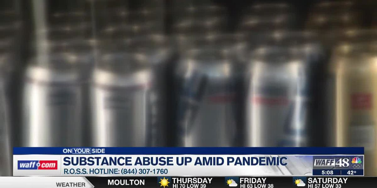 Substance abuse up amid the pandemic