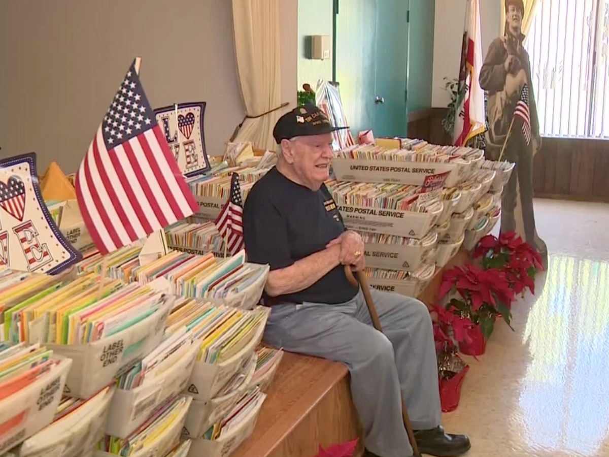 WWII Veteran Receives Thousands Of Birthday Cards From All 50 States 10 Countries