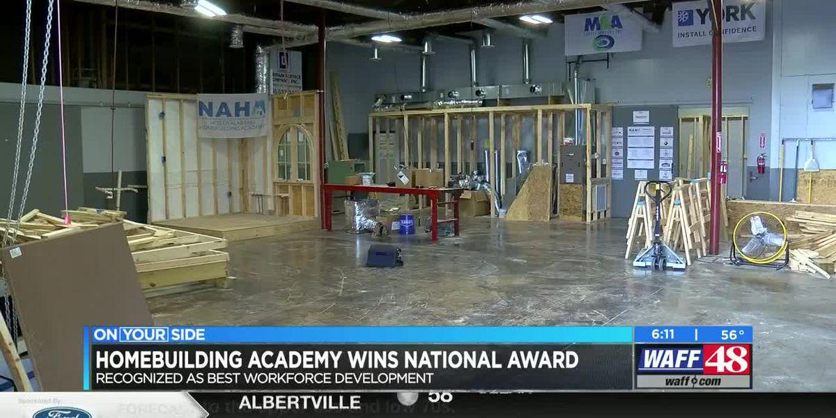 North Alabama Homebuilding Academy gets national award
