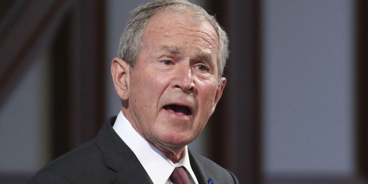 Bush criticizes GOP isolationism, anti-immigration rhetoric