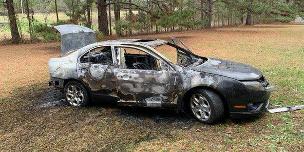 Man arrested after admitting to torching vehicle over a family dispute