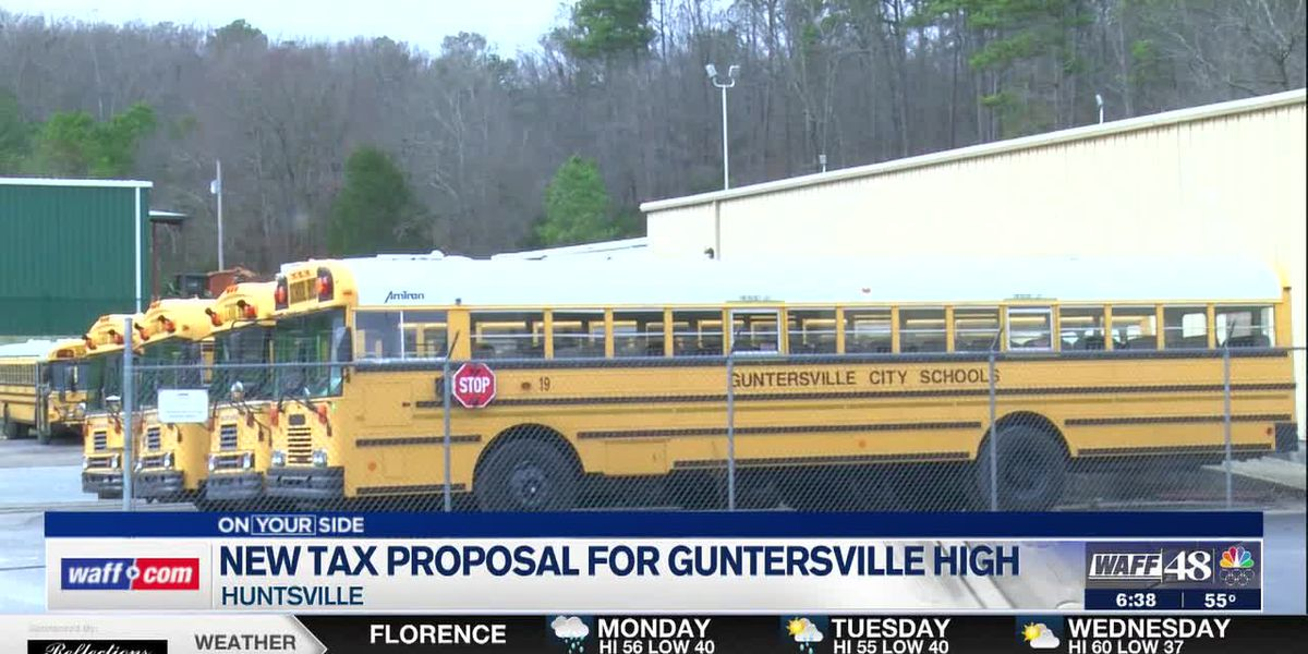 New tax proposal for Guntersville High School