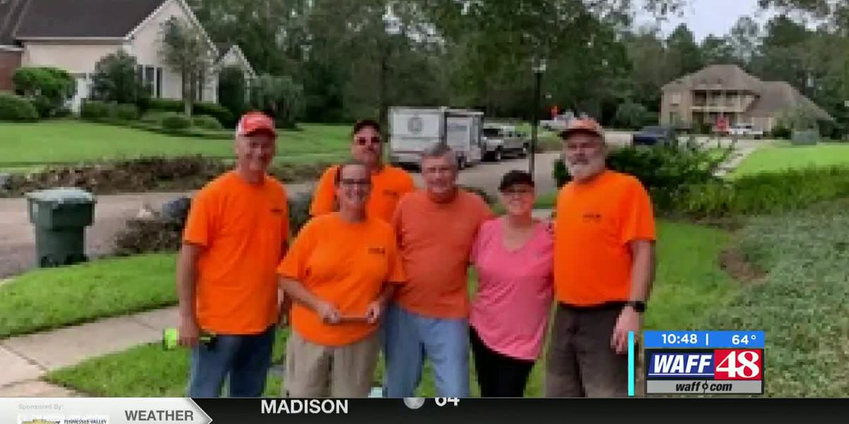 Clean up efforts after Hurricane Sally