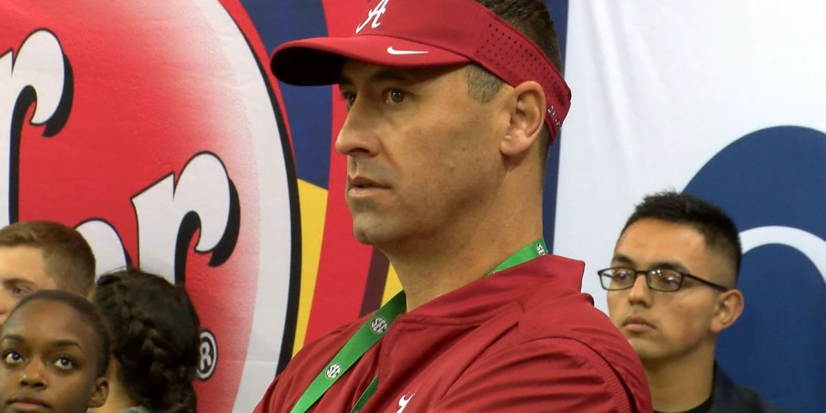 Alabama Offensive Coordinator Steve Sarkisian recovering from heart procedure