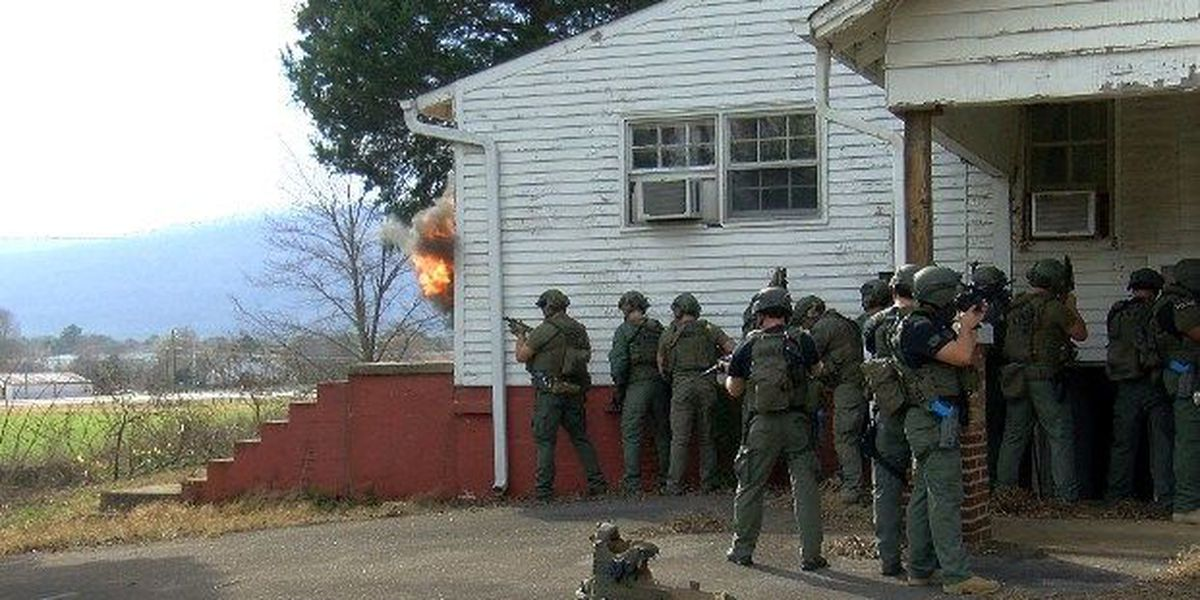 A look inside Madison County SWAT training