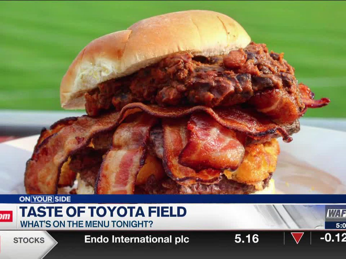 A taste of Toyota Field; Taking a look at the Trash Panda's menu