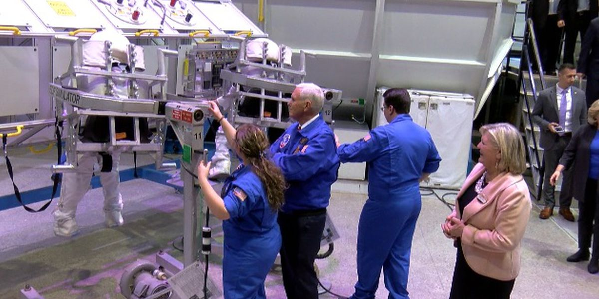 Vice president visits Space Camp during trip to Rocket City