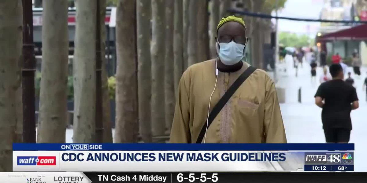 How new CDC outdoor masking guidance affects those vaccinated, unvaccinated
