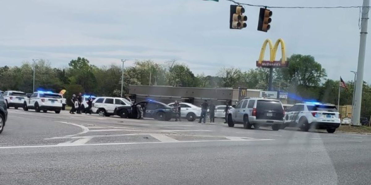 One person in custody after police chase in Madison County