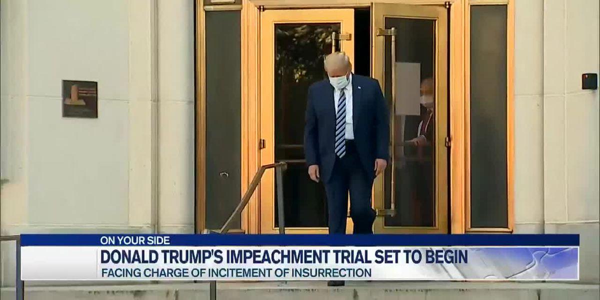 Former President Donald Trump's second impeachment trial set to begin in US Senate