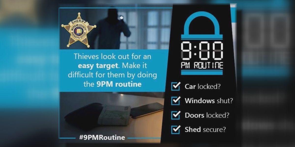 Deputies: Nightly safety checklist helping decrease break-ins