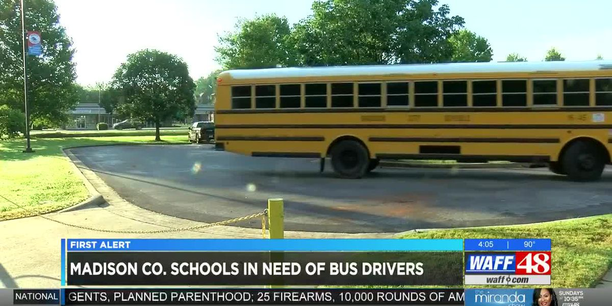 Madison County Schools still searching for bus drivers