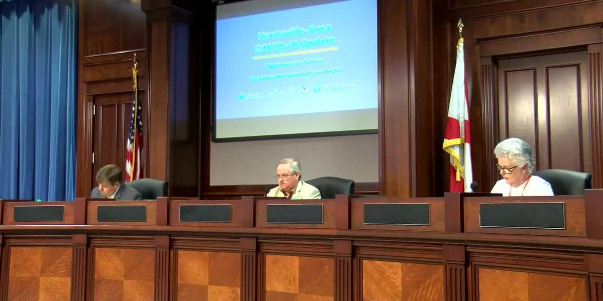 Huntsville officials update COVID-19 latest