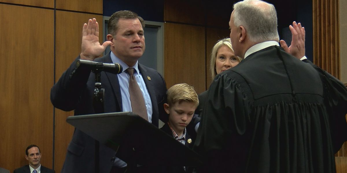 'I'm back home now': Kevin Turner sworn in as new Madison County sheriff