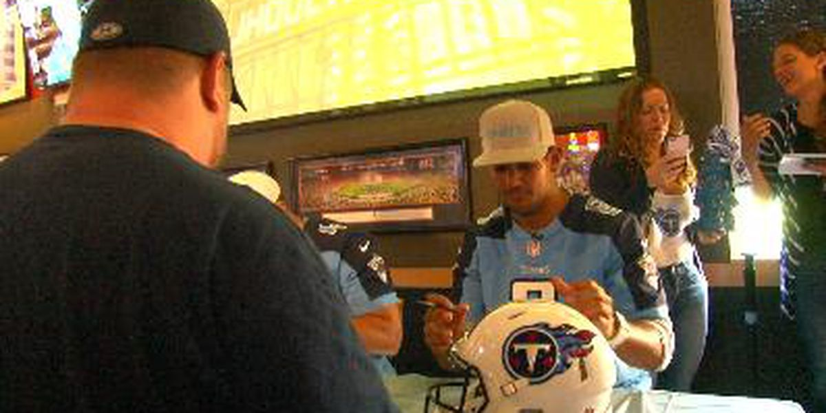Mariota, Titans make stops in North Alabama
