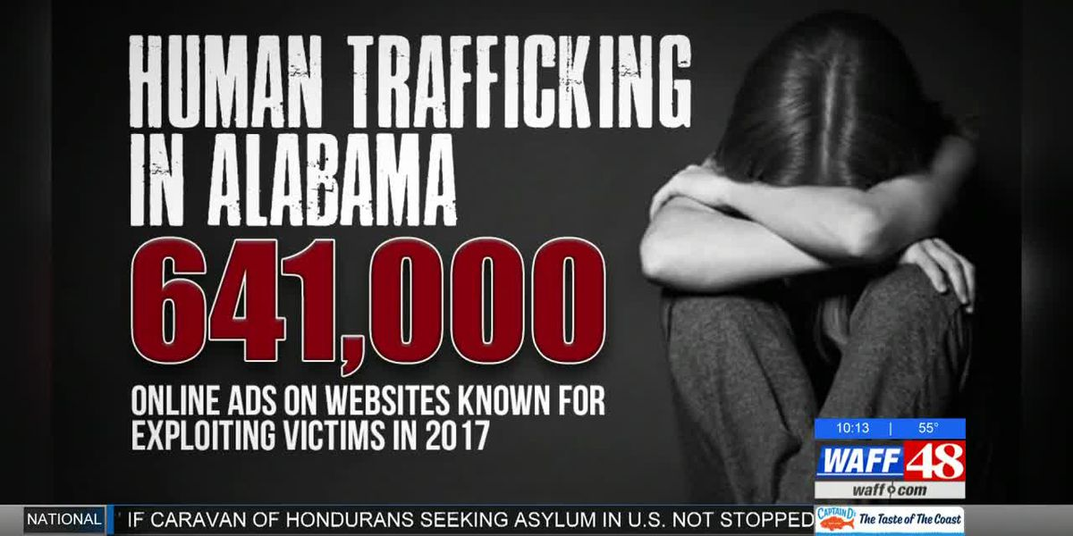 New stats & new law in AL to combat human trafficking