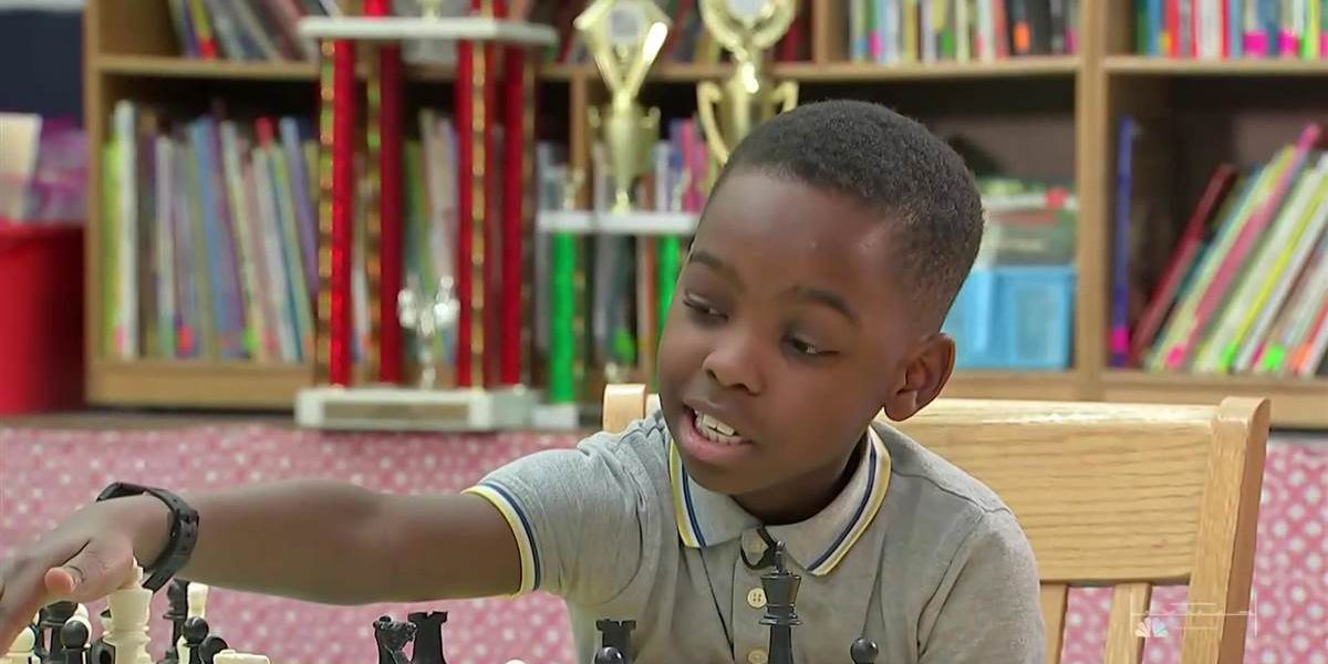 Homeless 8-year-old refugee wins New York chess championship