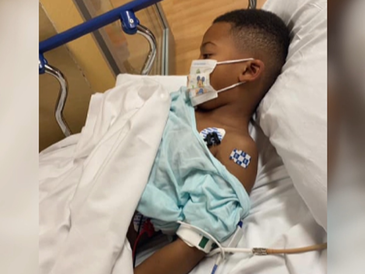 Decatur boy back home; beats COVID related illness