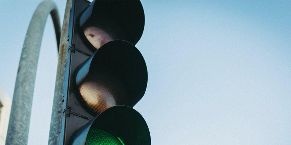 Traffic light out on Zierdt Road
