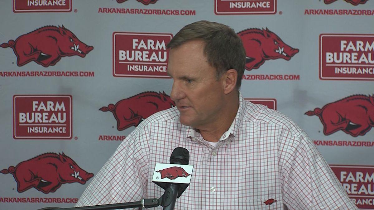 Chad Morris fired as Arkansas football coach, Lunney Jr. named interim coach
