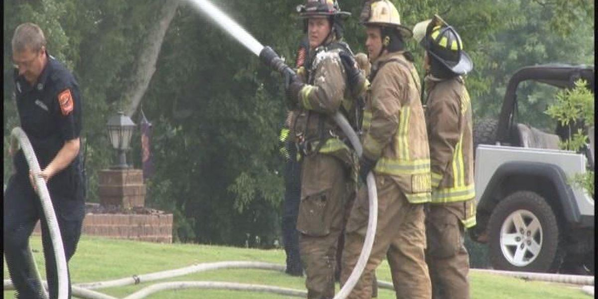 WATCH WAFF: Huntsville firefighters rally for equal pay; Man arrested for assaulting police officer