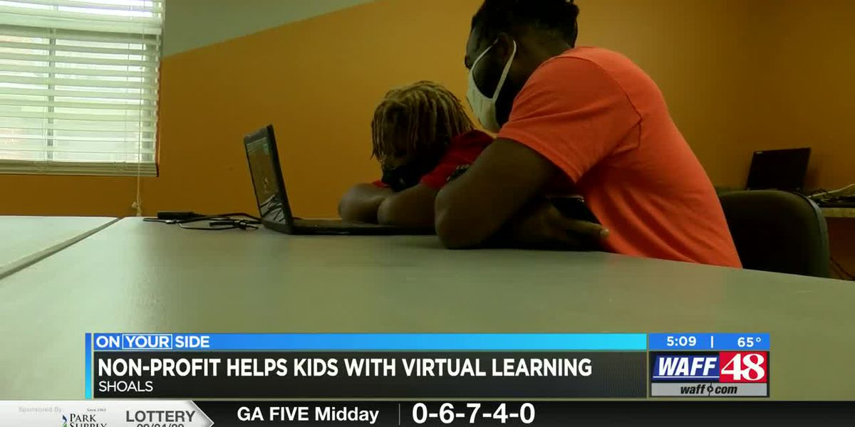 A non-profit in the Shoals area is helping students with virtual learning