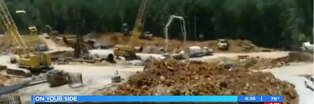 Time-lapse of U.S. 231 construction