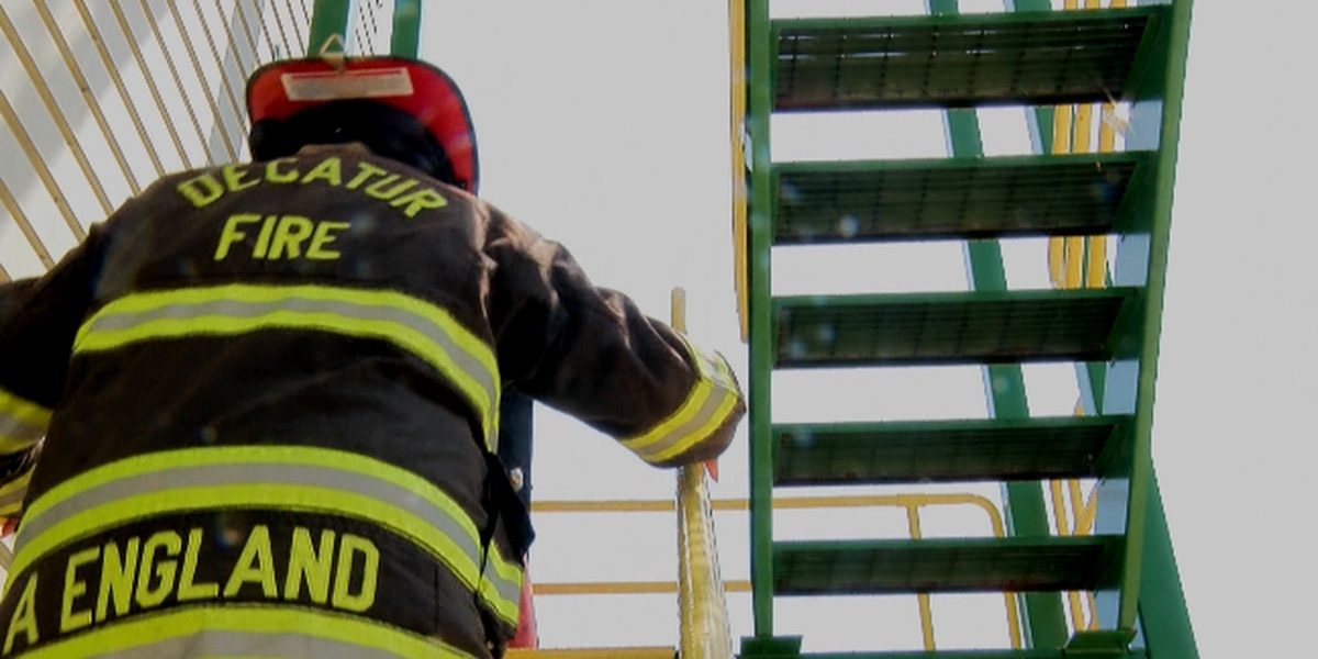 INSIDE LOOK: Decatur firefighters work to beat the heat