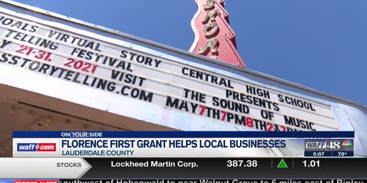 Florence first grant is helping local businesses
