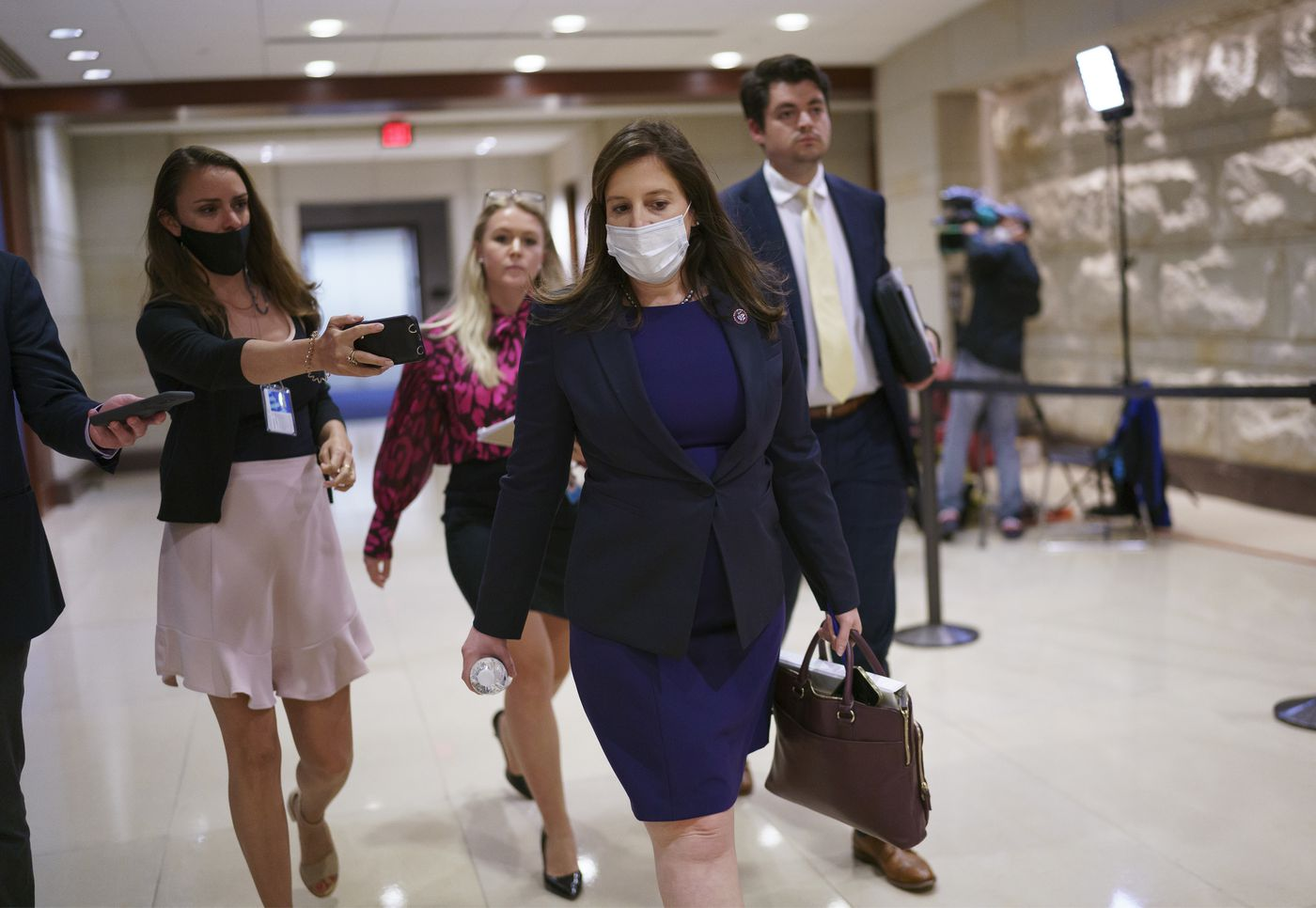 House GOP set to put Trump defender Stefanik into No. 3 post