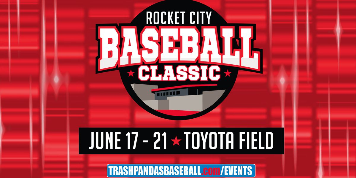 Trash Pandas host Rocket City Classic Wednesday