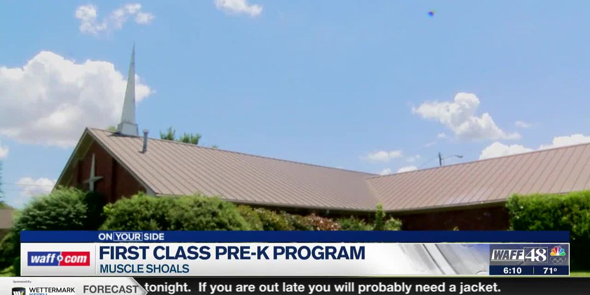 First-class Pre-K program in Muscle Shoals