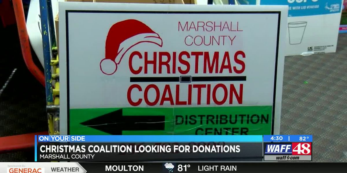 Marshall Co. Christmas Coalition looking for more donations