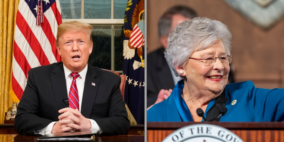 Ivey, Trump have high approval in new Alabama poll