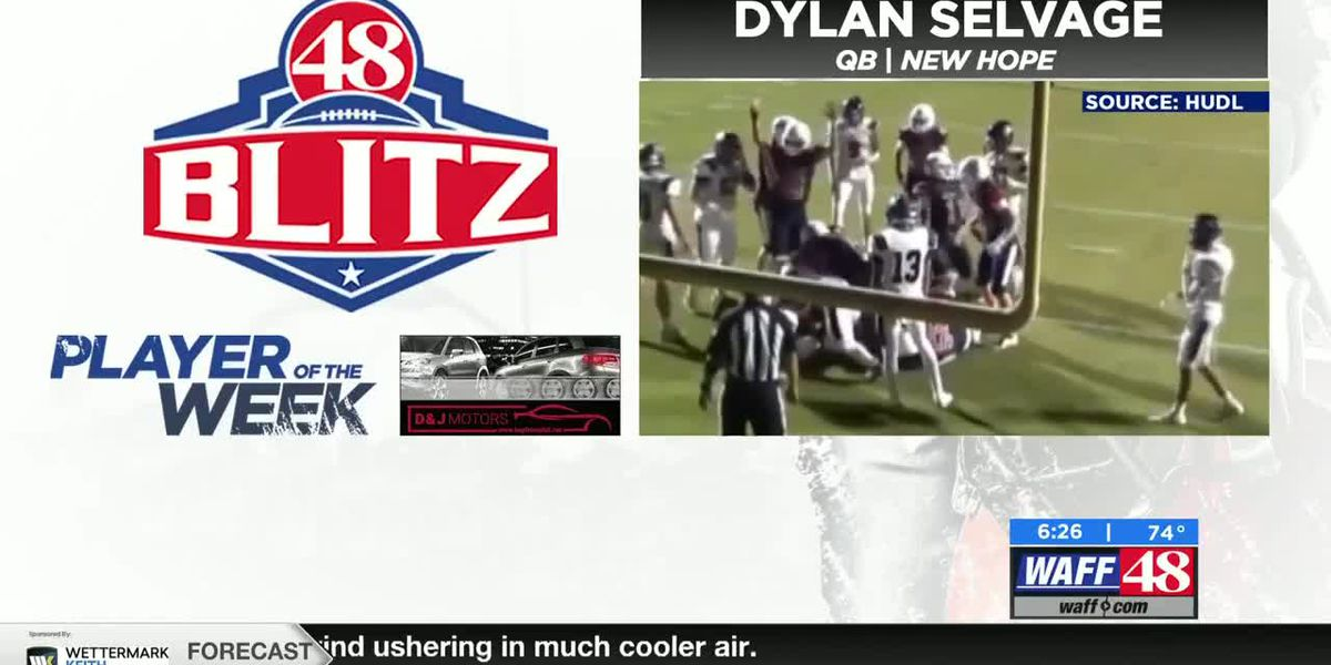 48 BLITZ Week 8 Player of the Week: Dylan Selvage