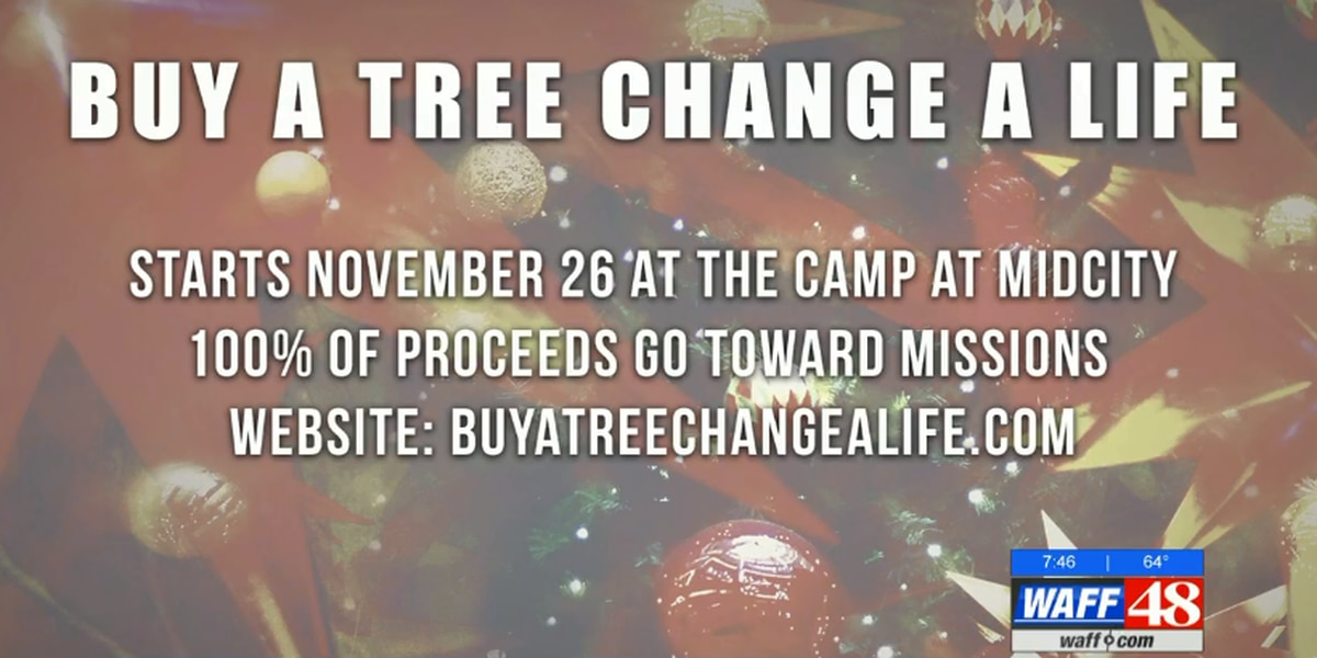"""Buy a Tree Change a Life"" raising money for children around the world"