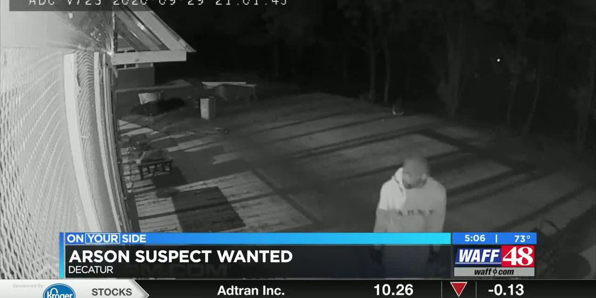 Arson suspect wanted
