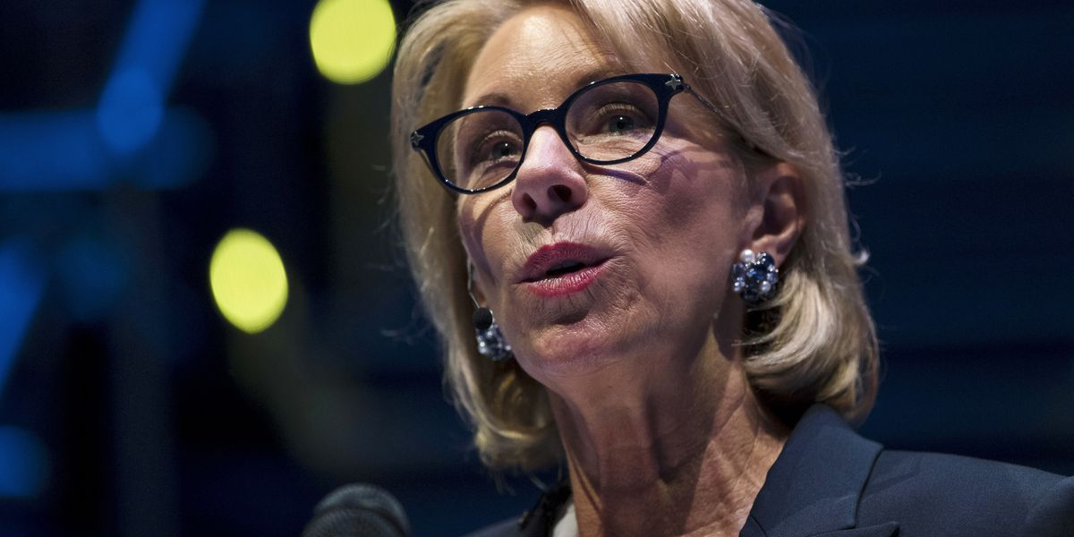DeVos wants to change campus rules on sexual misconduct