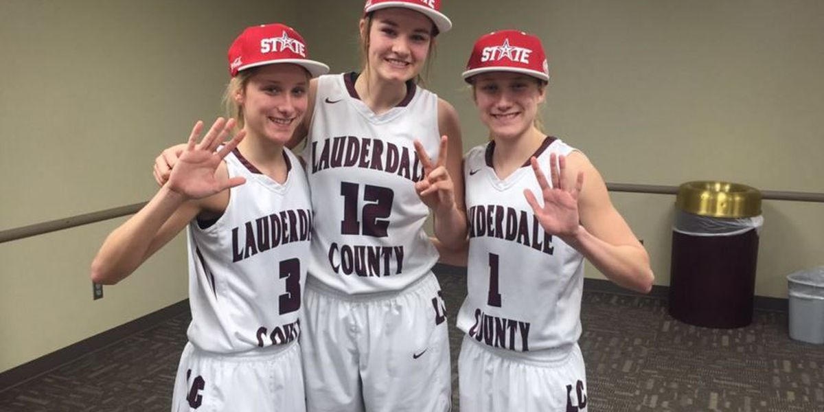 Give 'em 5: Lauderdale Co. girls in historic tourney win
