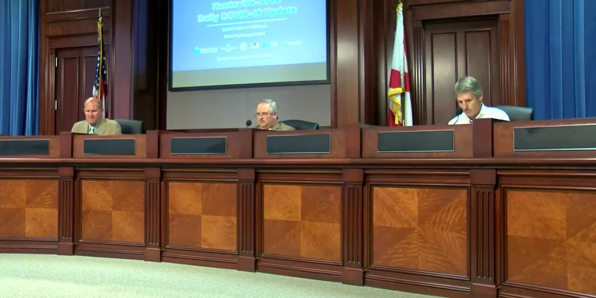 LIVE AT NOON: Huntsville officials update COVID-19 latest on Wednesday