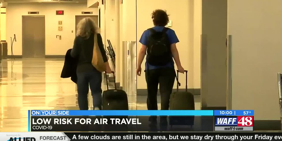 Precautions in place at Huntsville International Airport for safe traveling
