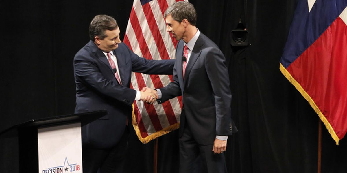 Cruz, O'Rourke trade attacks during testy 1st Texas debate